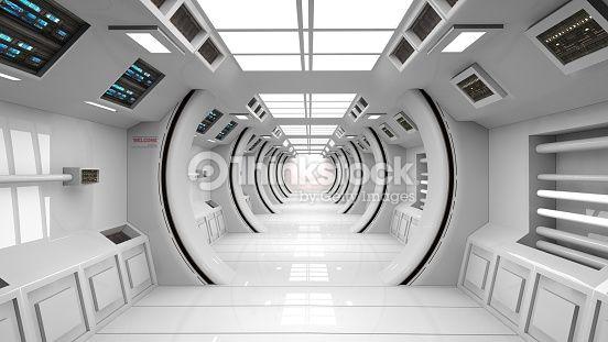 futuristic white laboratory - Google Search