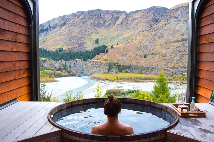 Hot Onsen, Queenstown, New Zealand - Mister Weekender #travel #wanderlust