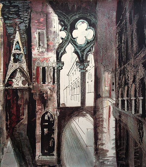 John Piper: Death in Venice IV (1973)