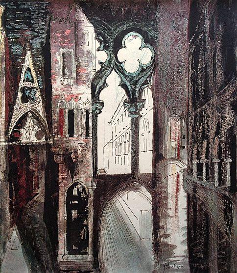 John Piper: Death in Venice IV (1973)