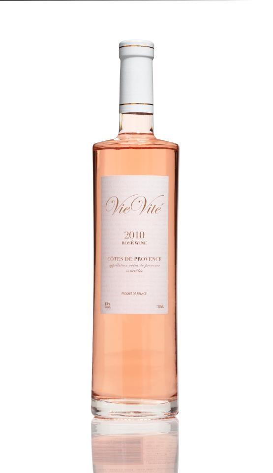Rose Wine  Vie Vite Rosé Côtes de Provence.