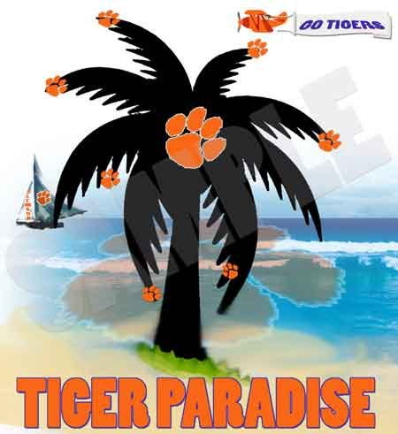 Tiger Paradise Tee Shirt by dswygert on Etsy, $18.00Tees Shirts, Paradise Tees, Tee Shirts, Paradis Tees