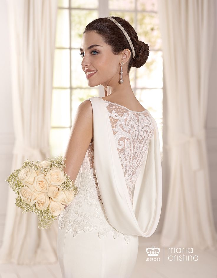 755 best Interesting & Intricate Backs On Wedding Gowns ...