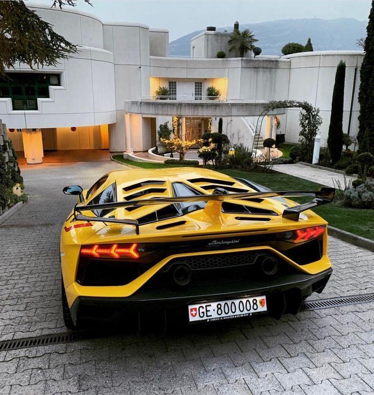 Lamborghini Aventador Super Veloce Jota Painted In Giallo Orion