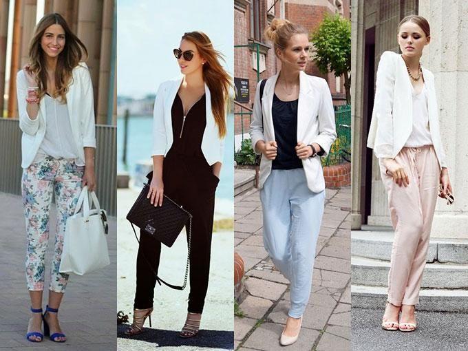 Básicos de verano: saco blanco