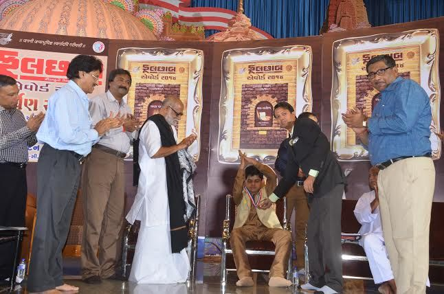 Jay Chaniyaara - Rajkot Youngest Disability Comedian in India world records honored by Paavan Solanki