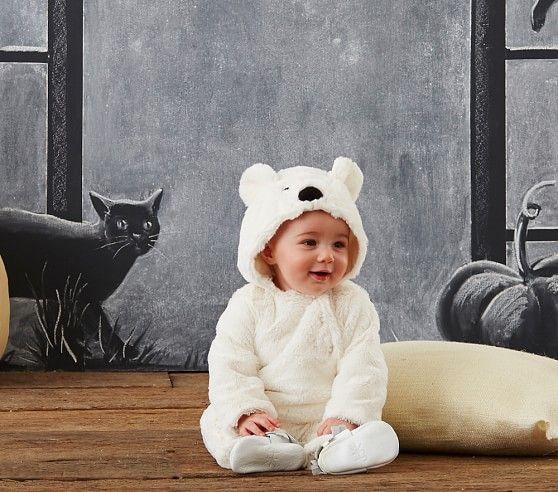 Baby Polar Bear Costume | Pottery Barn Kids