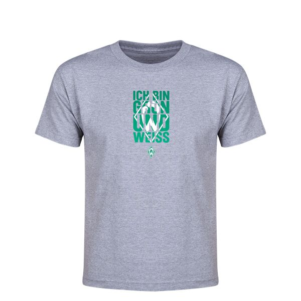 Werder Bremen I Am Green and White Youth T-Shirt