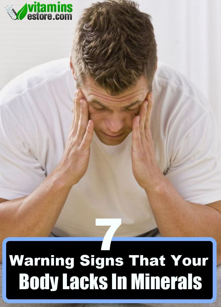 7 Warning Signs That Your Body Lacks In Minerals