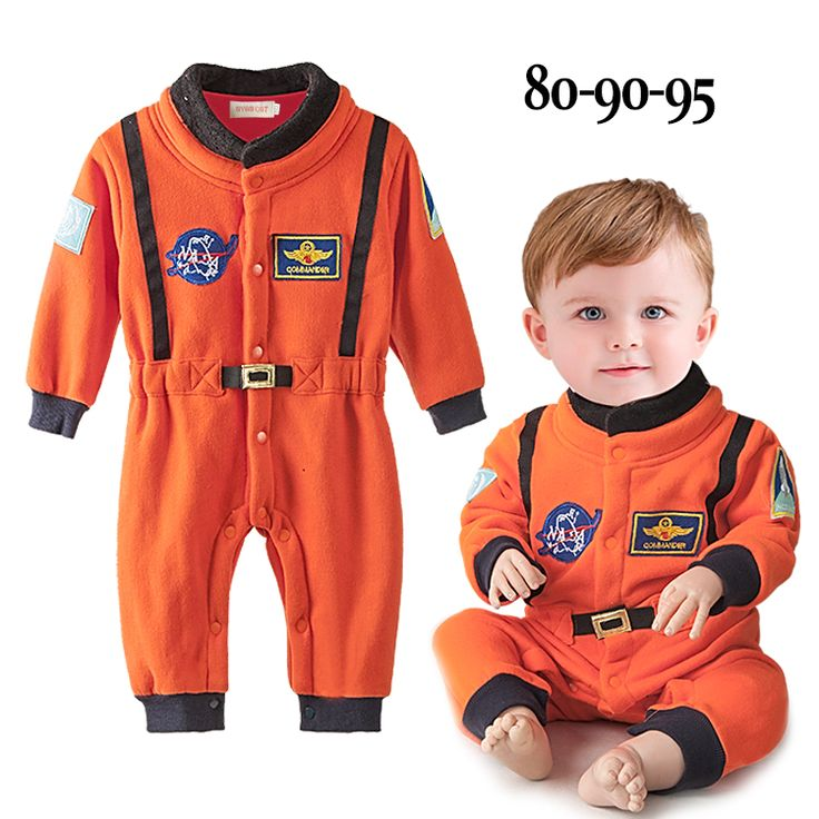 Spacesuit astronaut rompers for babies baby boy girl halloween costume infant toddler orange long sleeve cosmonaut  romper new-in Rompers from Mother & Kids on Aliexpress.com | Alibaba Group