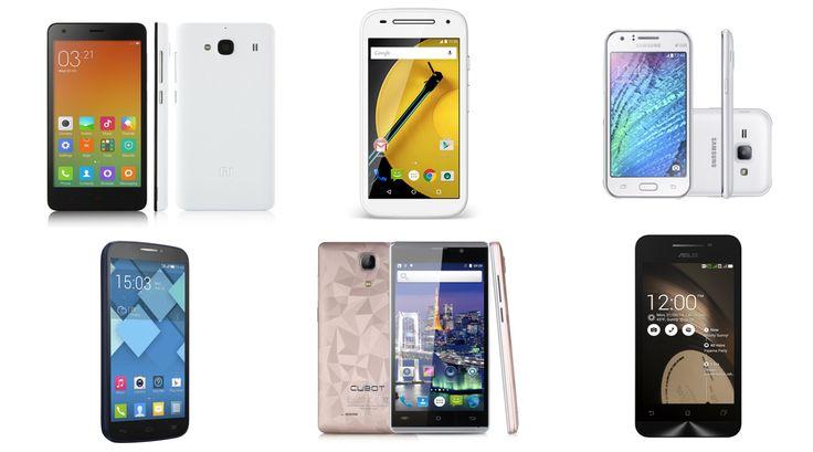 Guía imprescindible de smartphones baratos. Los mejores móviles por menos de 100€. Si buscas algo bueno, bonito y barato, aquí tienes. (Diciembre 2015)