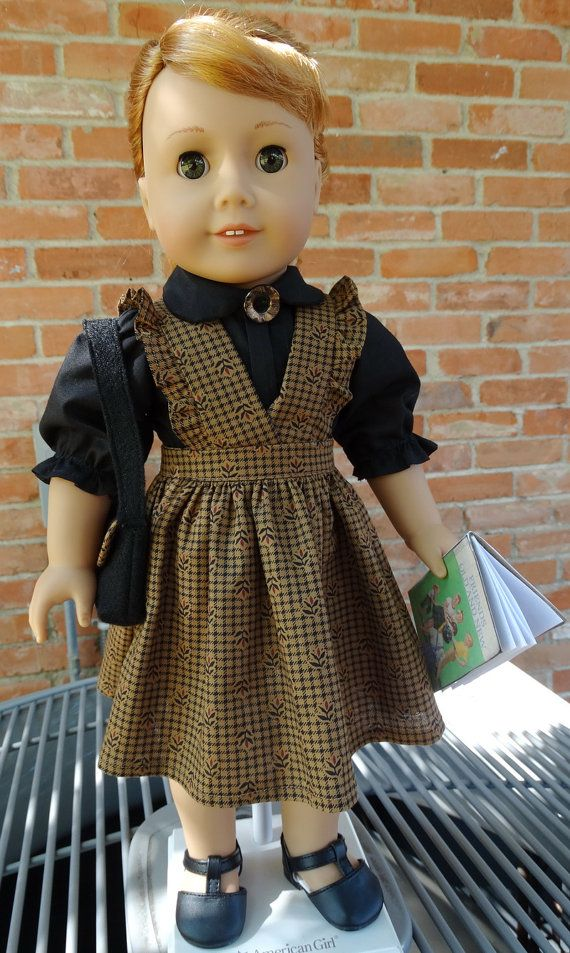 18 Doll Clothes 1950's Style School Jumper and by Designed4Dolls