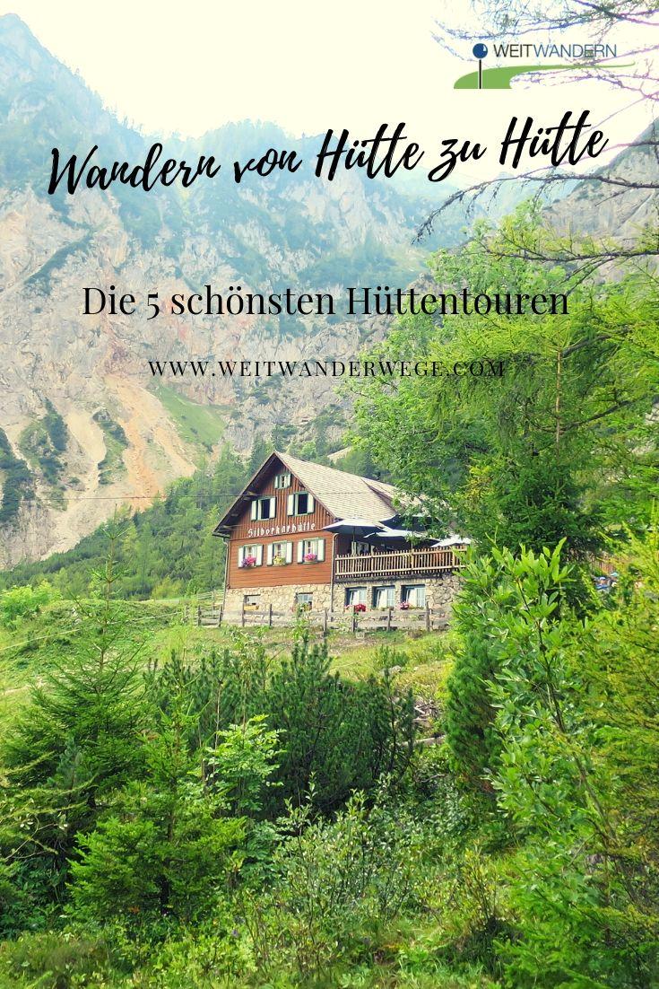 Wandern von Hütte zu Hütte