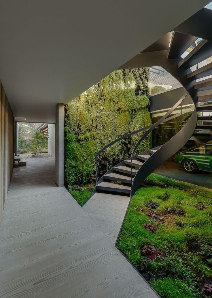 The Wall House, Cascais - Douglas flooring by Dinesen