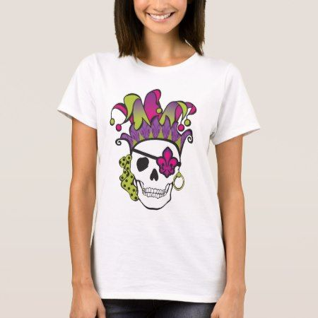 Mardi Gras Pirate Tee - click to get yours right now!