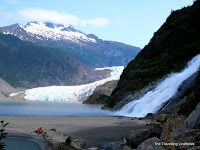 The Travelling Lindfields: Juneau, Alaska - The Mendenhall Glacier, Glacier B...