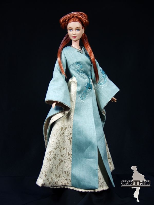 Sansa doll, inspired by Game of Thrones, by Créations COTHO