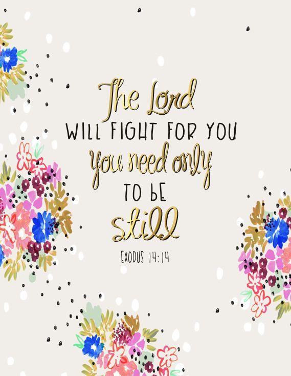 RIB TATTOO (Exodus 14:14)