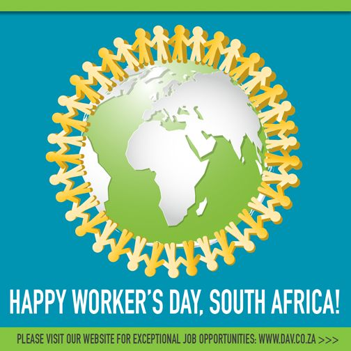 Happy Worker's Day, South Africa!