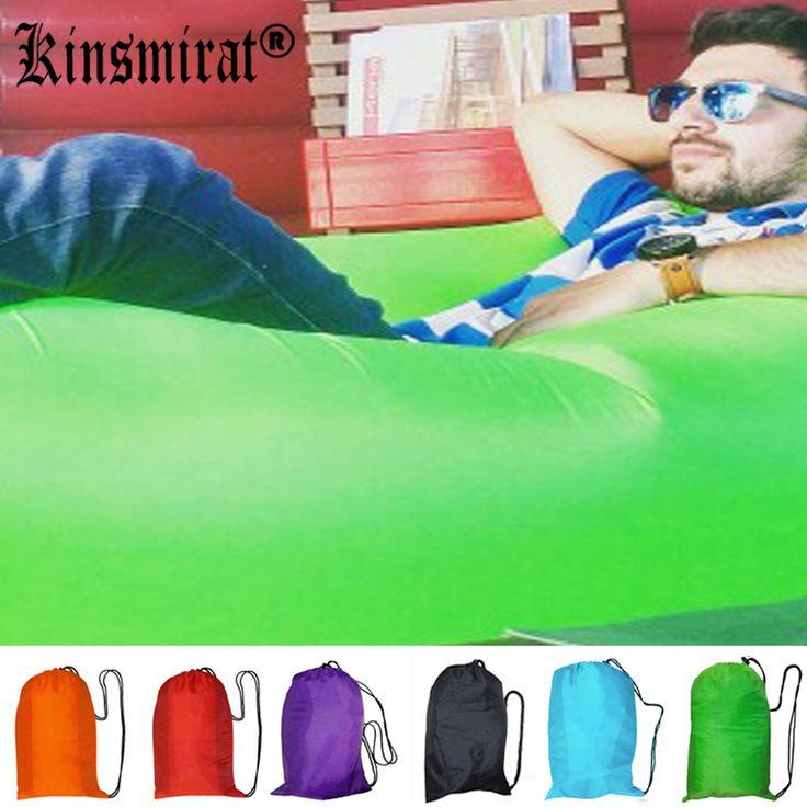 Saco de dormir de aire inflable sofá lazy bag laybag acuden al aire libre Colchoneta inflable Playa Plátano Salón Bolsa de Aire Cama Tumbona