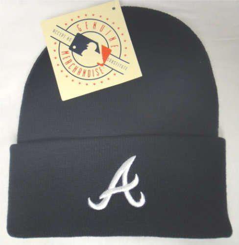 Atlanta Braves Baseball Beanie Skull Cap by MLB. Save 31 Off!. $14.54