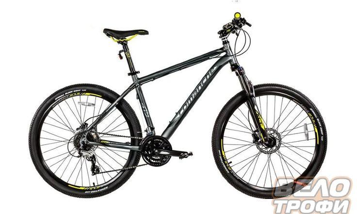 Велосипед Comanche Tomahawk 27.5 (черный)