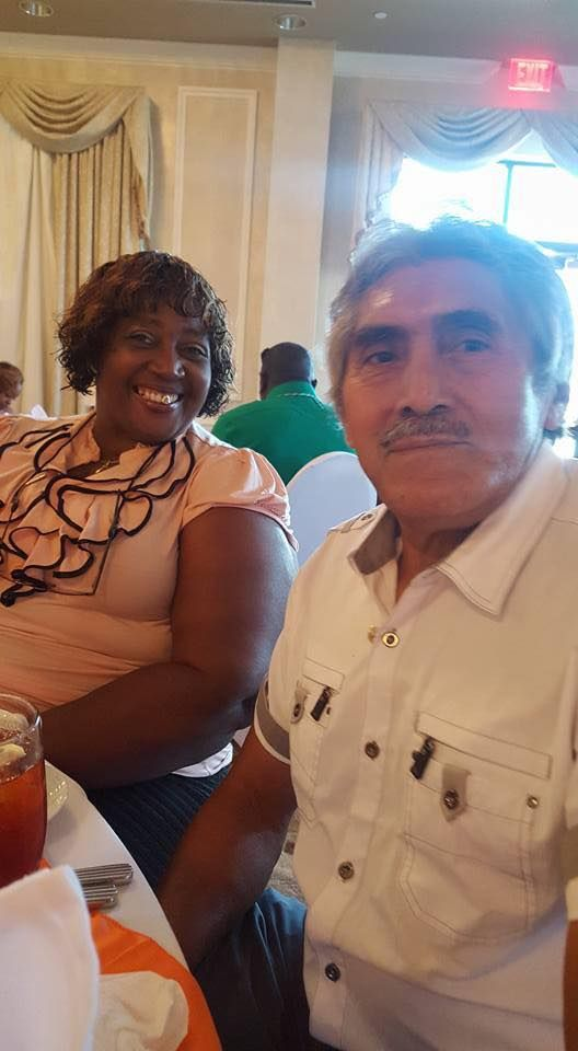 Armando and Elaine Loving me some him and he loving him some me. #Love #WMBW #BWWM Find your #InterracialMatch Here www.interracial-dating-sites.com