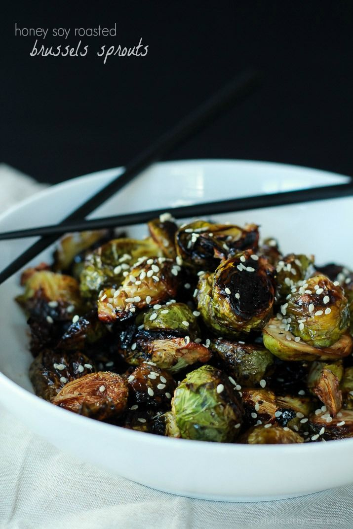 Honey Soy Glazed Brussels Sprouts | Recipe | Agaves, Health and ...