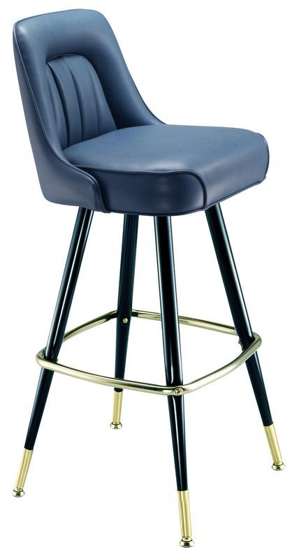 Sapphire/Turquoise: Confidence + Clarity + Direction. | http://www.PsychicKailo.org. | Blue Bar Stool