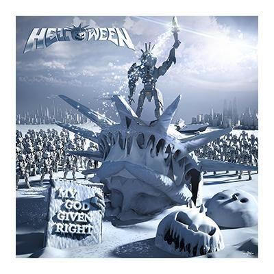 """L'album degli #Helloween intitolato """"My God-Given Right"""" in versione jewelcase."""
