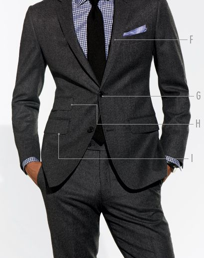Nice look made even better by the perfect fit.: Black Ties, Suits Guide, Suits Men, Gq Guide, Guide To, Men Style, Checkered Shirts, Gray Suits, Blue Checkered