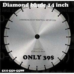 Diamond blade 14 inch