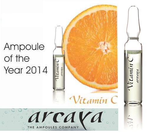 #VitaminC is vital for healthy skin. Use #Arcaya ampoule of the year to treat your skin with vitamin boost.