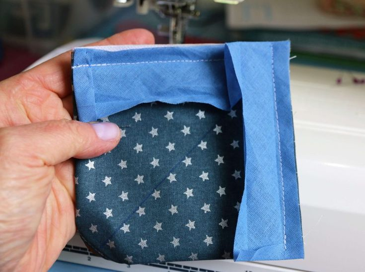 Fast & easy sweet: Sew small bag   – Nähen