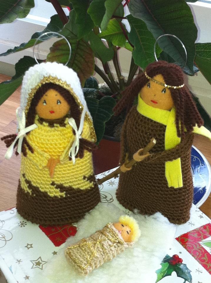 Free Knitting Pattern Toy Soldier : belen navideno The Nativity ~~Craft 3 Pinterest ...