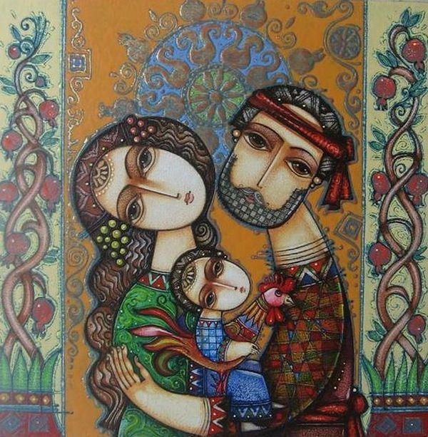 (+3) Душевное творчество армянского художника-керамиста Цолака Шагиняна