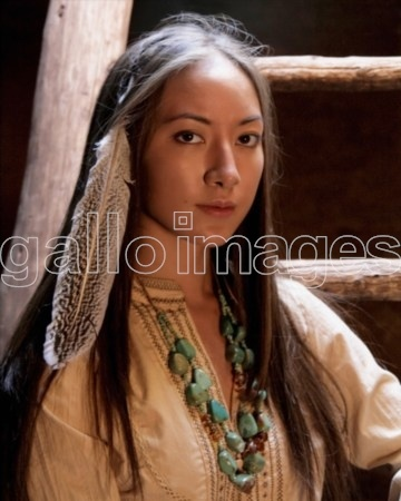 Cherokee mixed native american actress Faye Warren