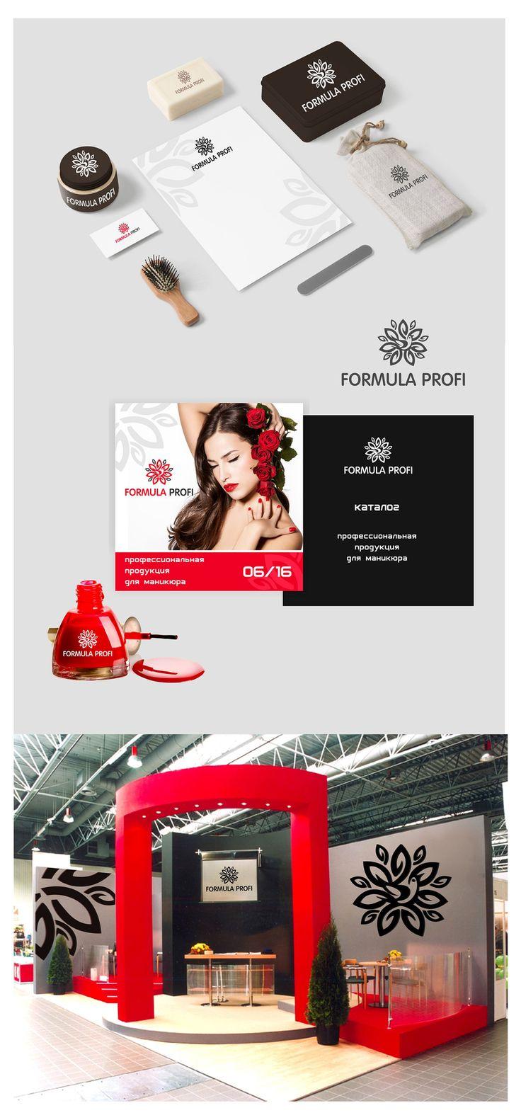 Разработка фирменного стиля для ногтевой компании, FREELANCE.boutique