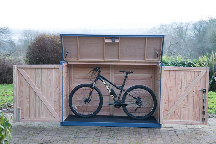 Practical, secure, stylish only £899 from The Bike Shed Company.