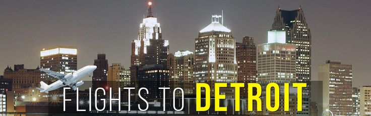 Flights to Detroit (DTW). H&S Travel offers great prices for flights to Detroit. Buy your ticket to Detroit today, and enjoy your journey with H&S!