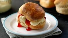 Paul Hollywood's scones. Just made these and they are delicious