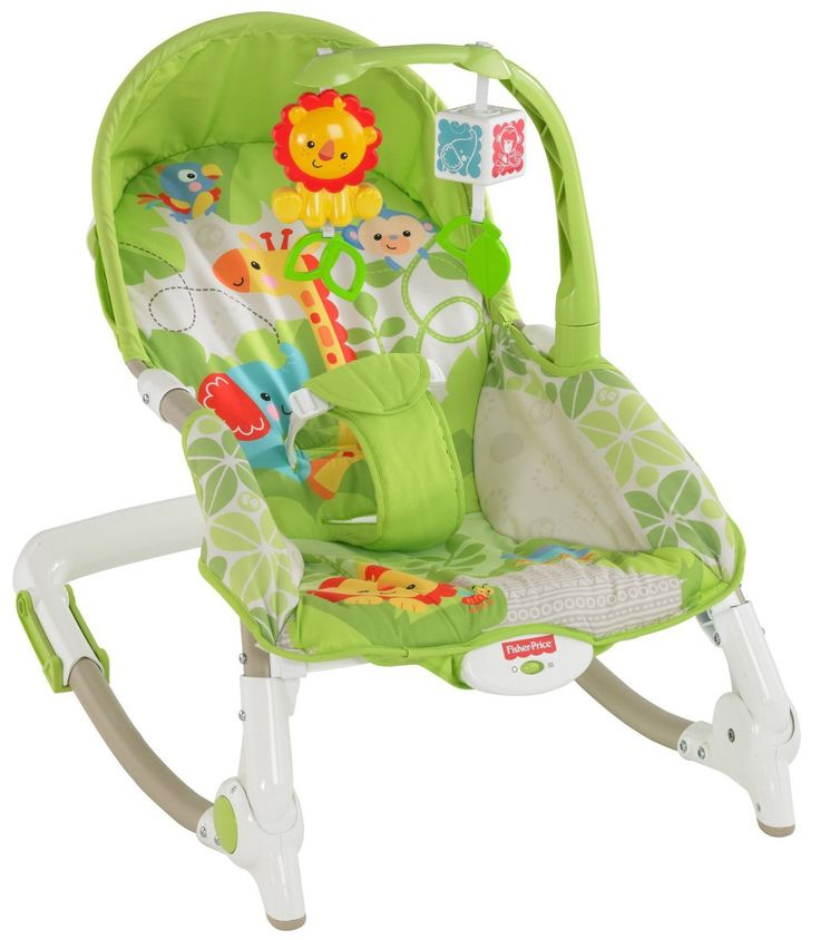 Newborn To Toddler Portable Rocker Sleeper Soother Baby Infant Bouncer Chair