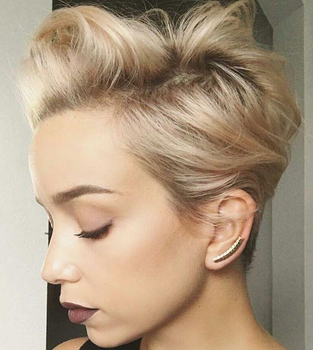 25 best ideas about Blonde pixie cuts on Pinterest