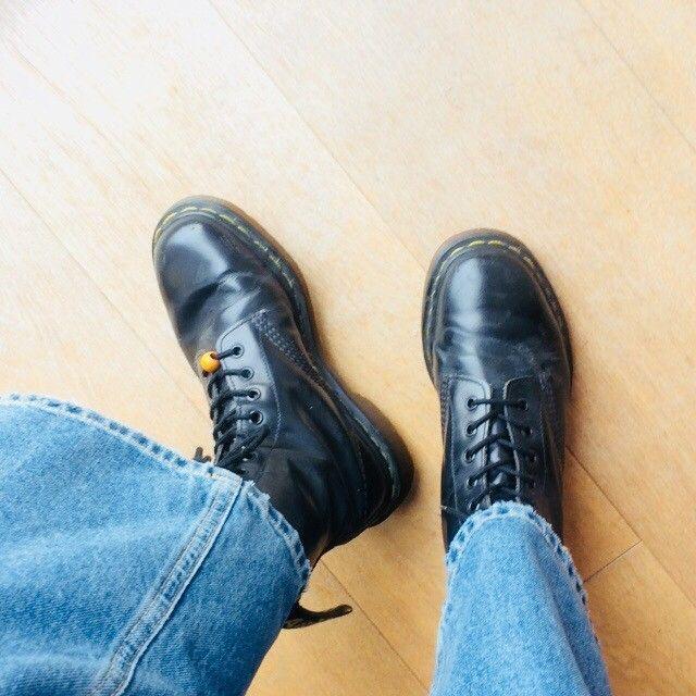 bottines plates femme style docs