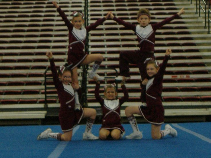 Cheer stunt for youth