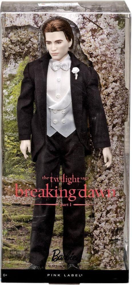 "Barbie Collector. The Twilight Saga: Breaking Dawn Part I, Edward fashion doll. Pink Label. Коллекционная кукла Эдвард для коллекционеров Барби из серии ""Сумерки. Сага. Рассвет: Часть 1"""