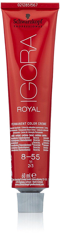 Schwarzkopf Igora Royal Hair Color - Color 8-55 Light Blonde Gold Extra * Click image for more details. #hairdiva