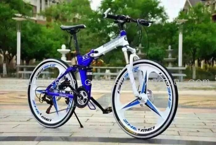 Bmw X6 Foldable Cycle Blue The Jt Store Buy Now Bmw X6