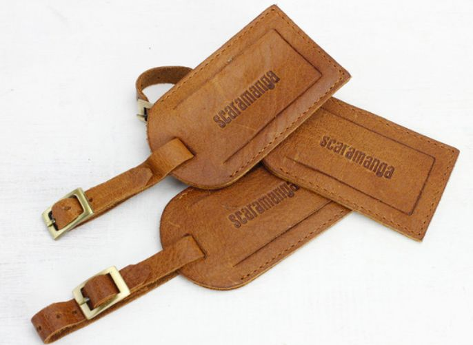 Our stunning leather luggage tag will add class & sophistication, not to mention practicality, on your next holiday.   #travelbag #gift #giftideas #leather
