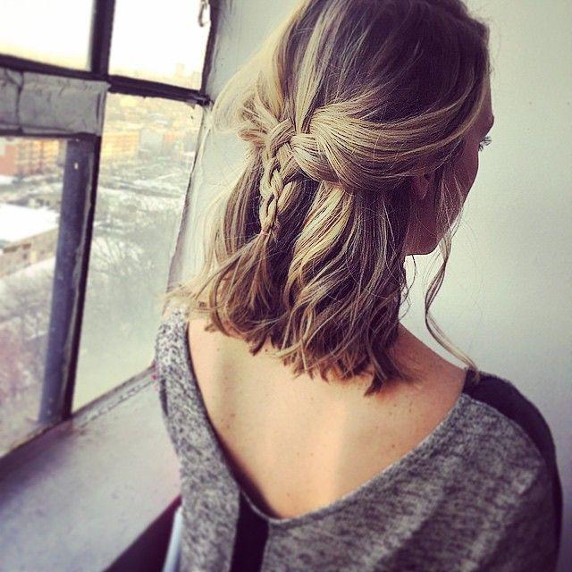 Tranças para fazer no cabelo curto